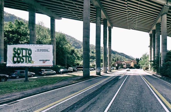 Como, via Bellinzona (cavalcavia): 2 postazioni