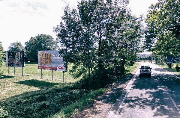 Como, via D'Annunzio (parcheggio Binda): 4 postazioni