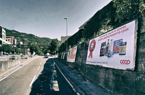 Como, via Castelnuovo: 2 postazioni